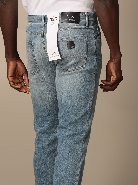 Jeans Armani Exchange: Jeans Armani Exchange in denim washed sstw 4