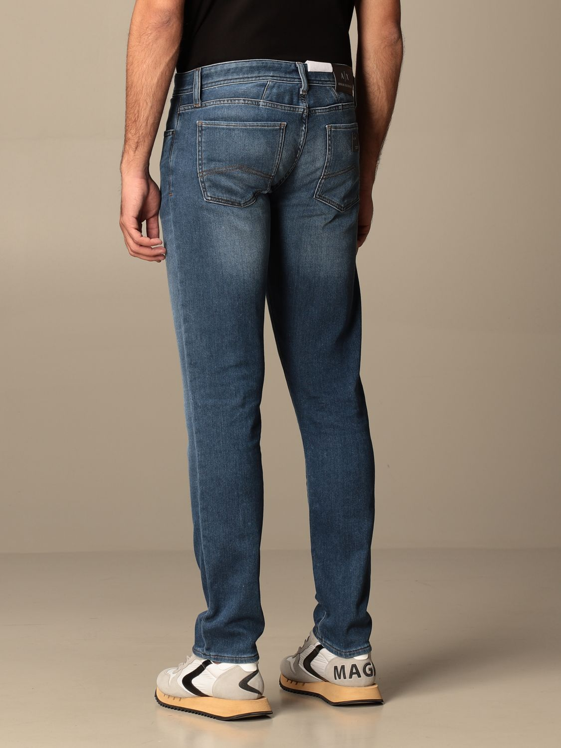 Jeans Armani Exchange: Jeans men Armani Exchange stone washed 2