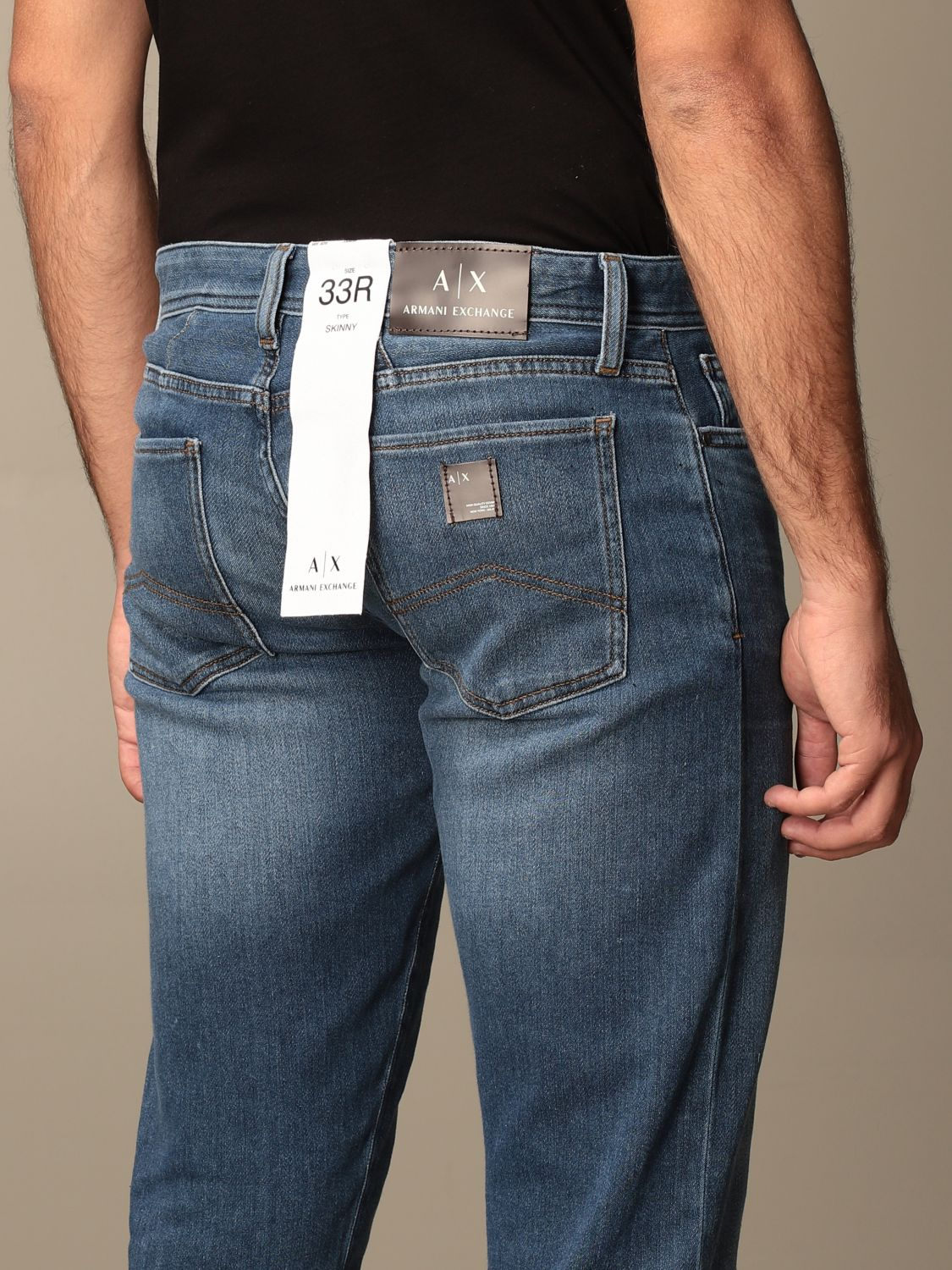 Jeans Armani Exchange: Jeans men Armani Exchange stone washed 3