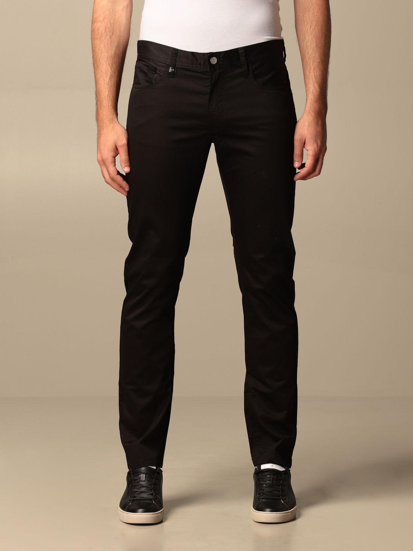 Pants Armani Exchange: Armani Exchange 5-pocket trousers black 1