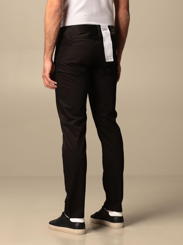 Pants Armani Exchange: Armani Exchange 5-pocket trousers black 4