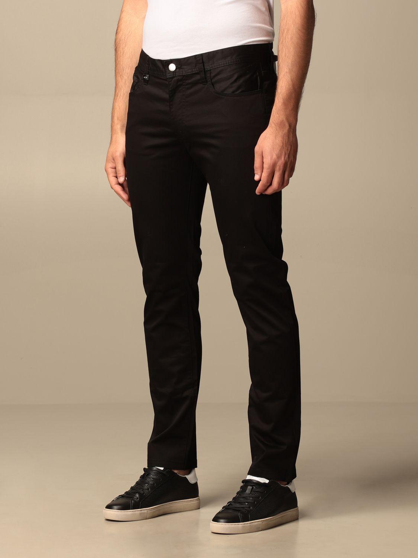 Pants Armani Exchange: Armani Exchange 5-pocket trousers black 2
