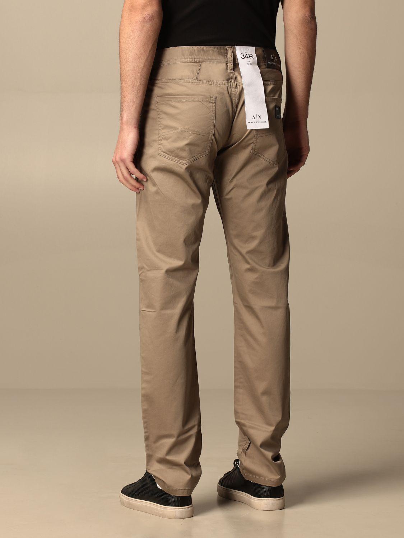 Trousers Armani Exchange: Trousers men Armani Exchange beige 2