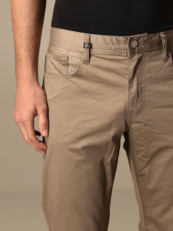 Trousers Armani Exchange: Trousers men Armani Exchange beige 4