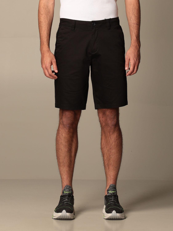 Pantaloncino Armani Exchange: Pantaloncino Chino Armani Exchange in cotone nero 1