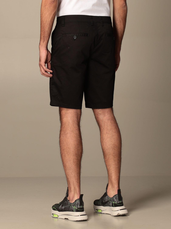 Pantaloncino Armani Exchange: Pantaloncino Chino Armani Exchange in cotone nero 3
