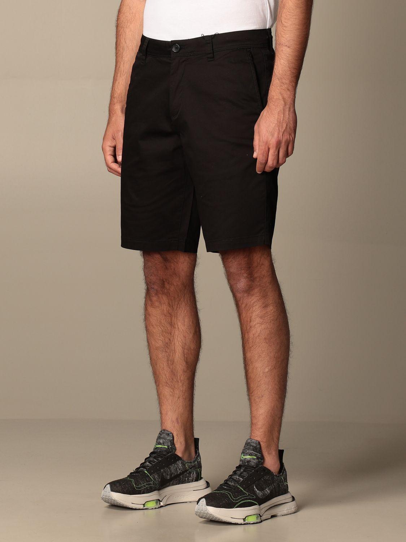 Pantaloncino Armani Exchange: Pantaloncino Chino Armani Exchange in cotone nero 4