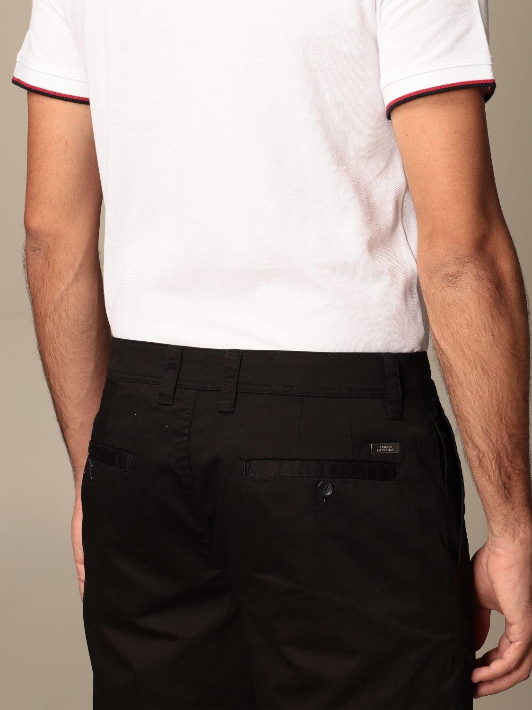 Pantaloncino Armani Exchange: Pantaloncino Chino Armani Exchange in cotone nero 5