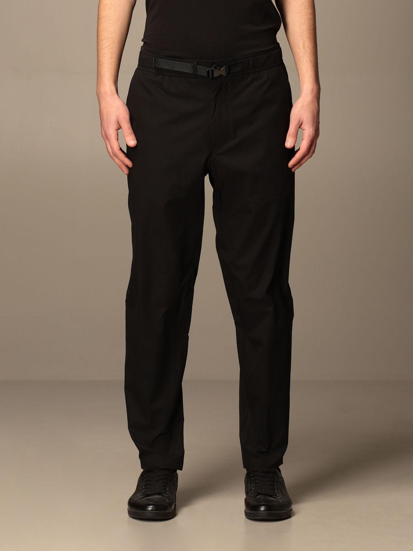 Pantalone Armani Exchange: Pantalone jogging Armani Exchange in tessuto tecnico nero 1