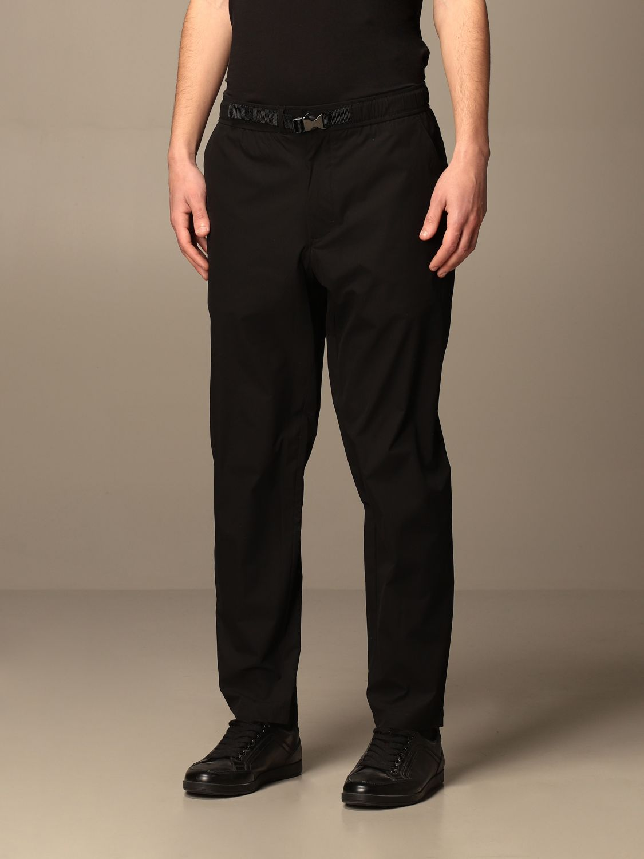 Pantalone Armani Exchange: Pantalone jogging Armani Exchange in tessuto tecnico nero 3