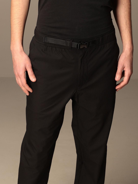 Pantalone Armani Exchange: Pantalone jogging Armani Exchange in tessuto tecnico nero 4