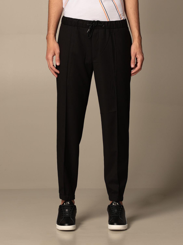 Trousers Armani Exchange: Trousers men Armani Exchange black 1
