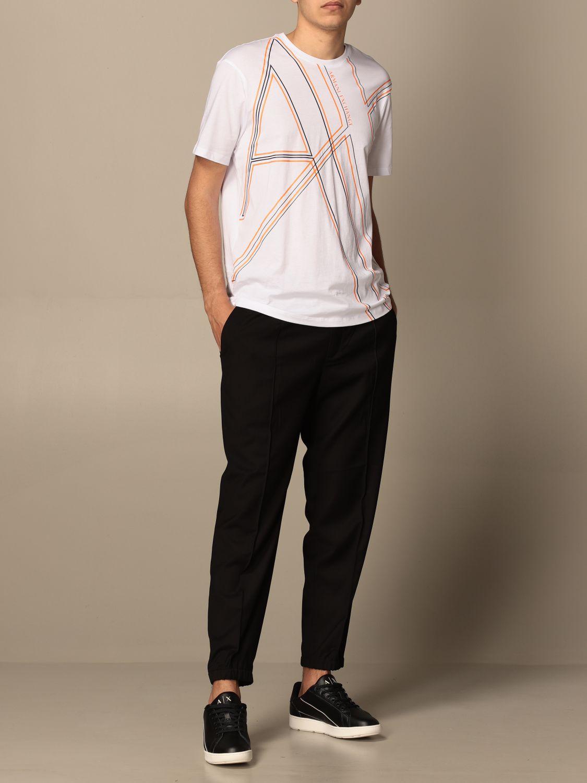 Trousers Armani Exchange: Trousers men Armani Exchange black 2