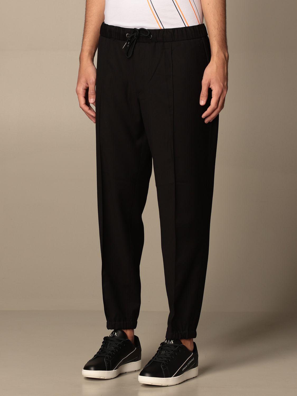 Trousers Armani Exchange: Trousers men Armani Exchange black 4