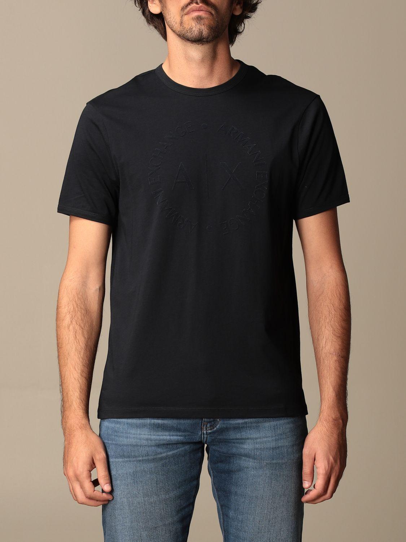 T-shirt Armani Exchange: Armani Exchange basic T-shirt blue 1