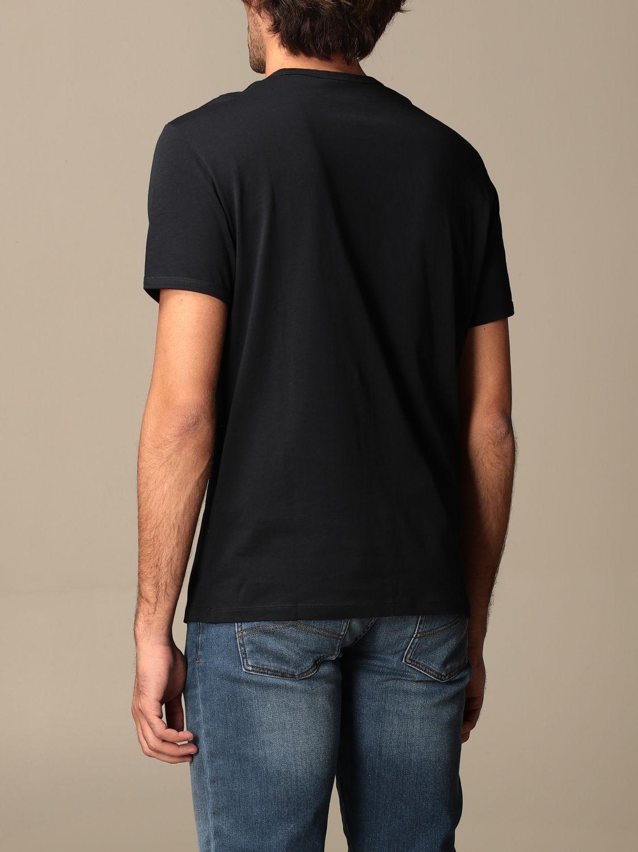T-shirt Armani Exchange: Armani Exchange basic T-shirt blue 2