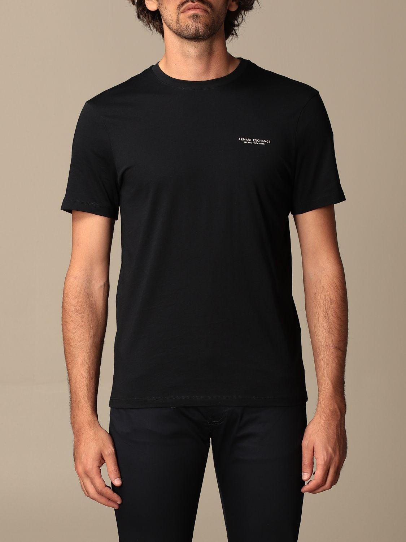 T-shirt Armani Exchange: T-shirt homme Armani Exchange bleu 1