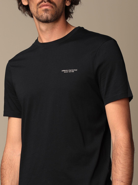 T-shirt Armani Exchange: T-shirt homme Armani Exchange bleu 3