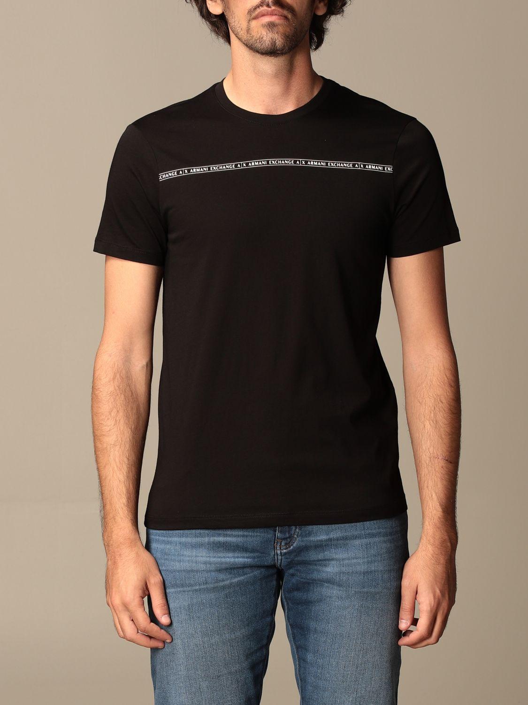 T-shirt Armani Exchange: T-shirt homme Armani Exchange noir 1