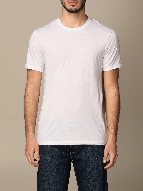 T-shirt Armani Exchange: T-shirt basic Armani Exchange in cotone bianco 1