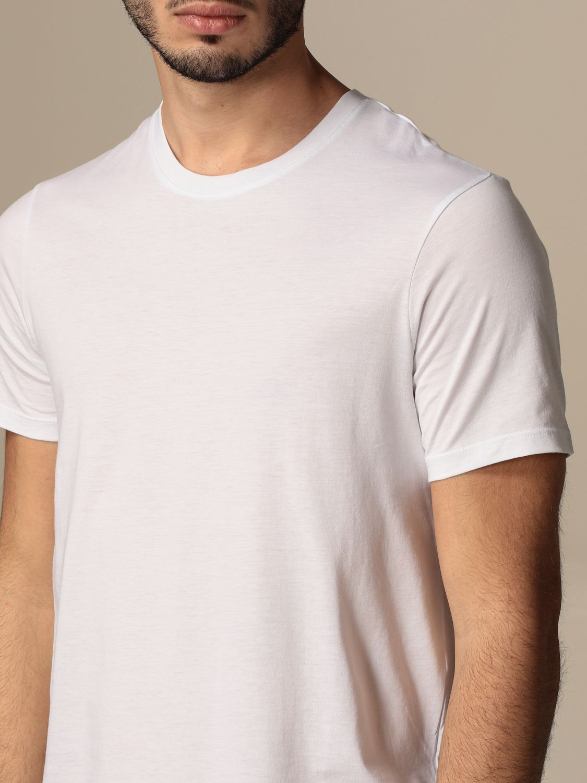 T-shirt Armani Exchange: T-shirt basic Armani Exchange in cotone bianco 3