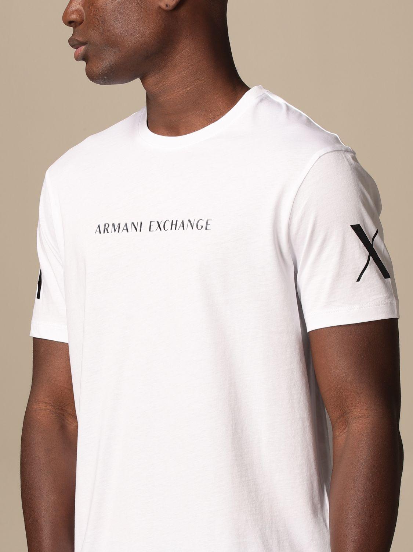 T-shirt Armani Exchange: T-shirt homme Armani Exchange blanc 3