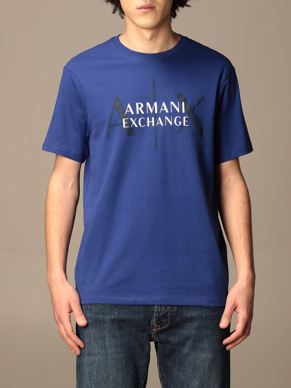 T-shirt Armani Exchange: T-shirt men Armani Exchange royal blue 1