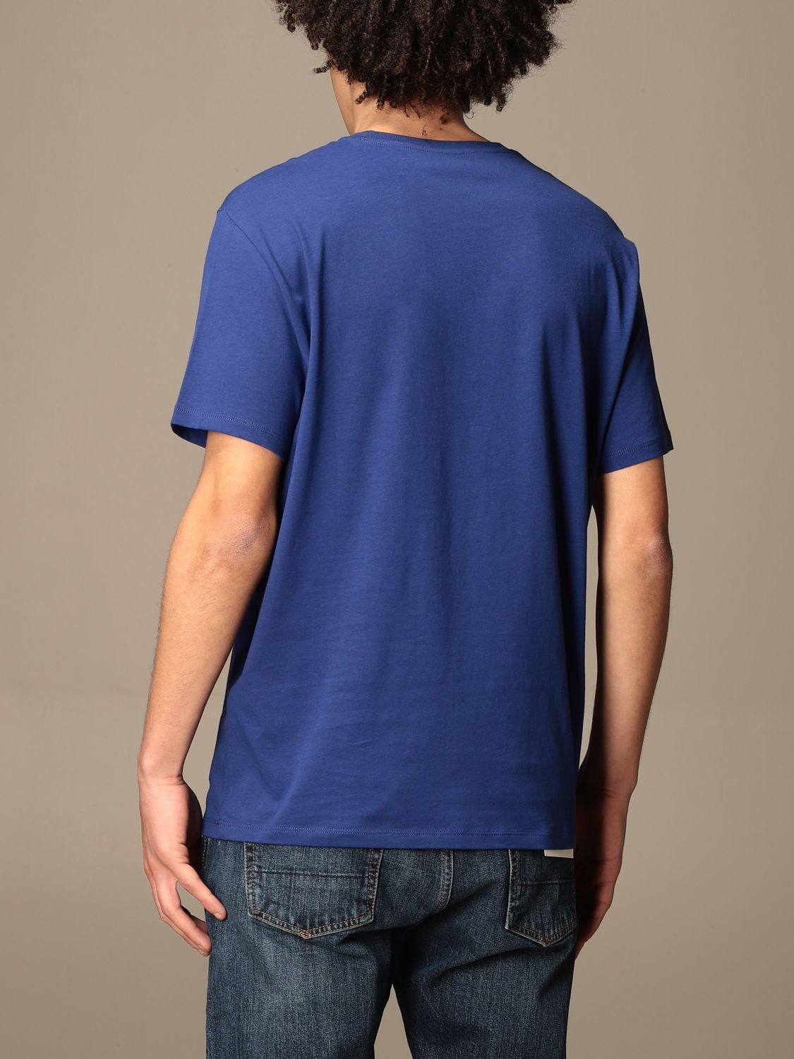 T-shirt Armani Exchange: T-shirt men Armani Exchange royal blue 2