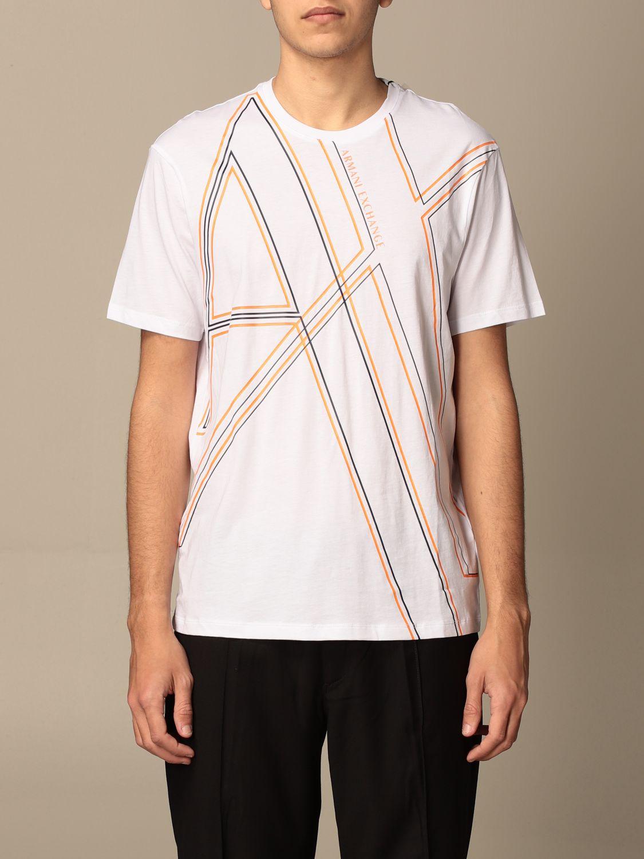 T-shirt Armani Exchange: Armani Exchange T-shirt with logo white 1