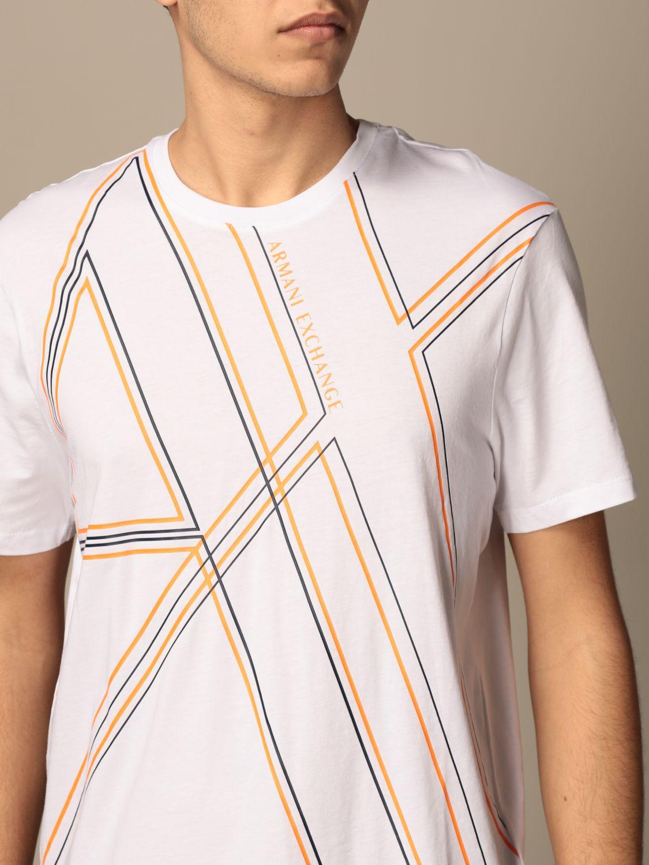 T-shirt Armani Exchange: Armani Exchange T-shirt with logo white 3