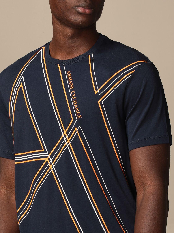 T-shirt Armani Exchange: T-shirt men Armani Exchange blue 3