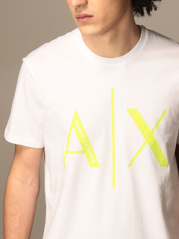 T-shirt Armani Exchange: T-shirt men Armani Exchange white 4
