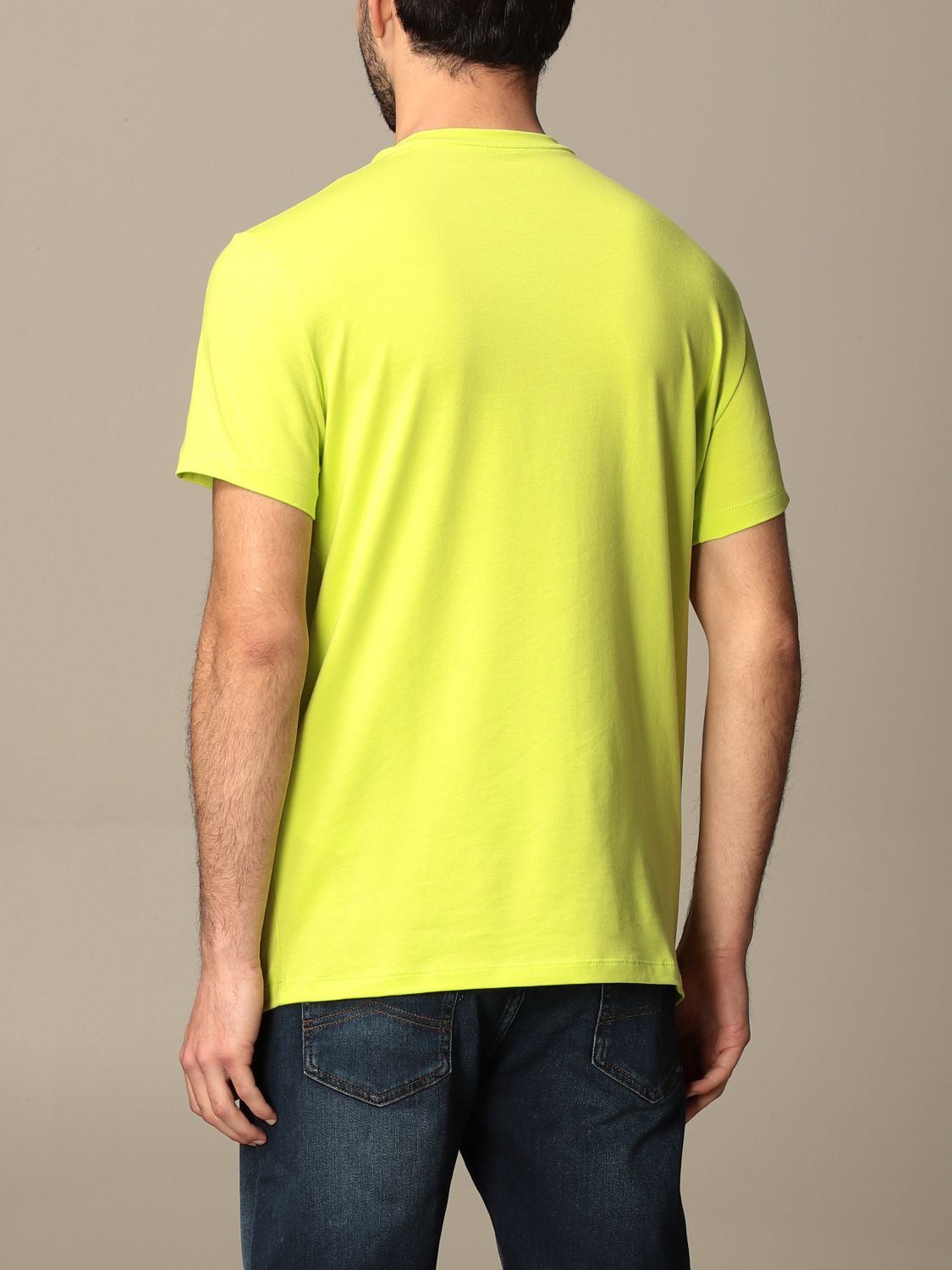 T-shirt Armani Exchange: Armani Exchange T-shirt with logo lime 2