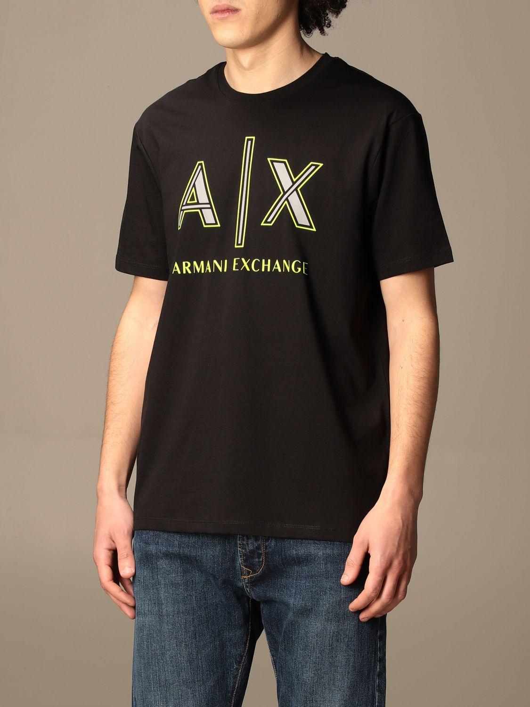 T-shirt Armani Exchange: T-shirt men Armani Exchange black 3