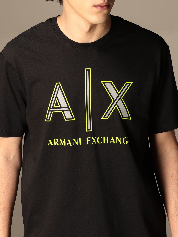 T-shirt Armani Exchange: T-shirt men Armani Exchange black 4