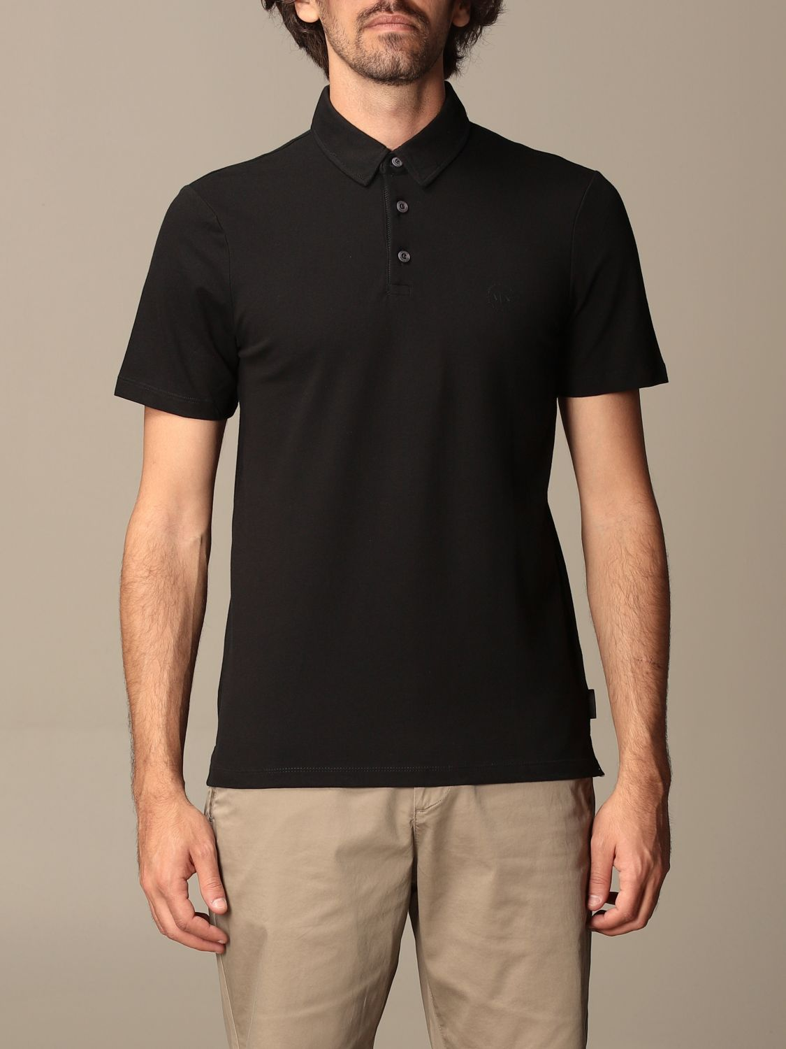 Polo shirt Armani Exchange: Polo shirt men Armani Exchange black 1