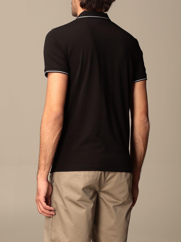 Polo shirt Armani Exchange: Polo shirt men Armani Exchange black 2