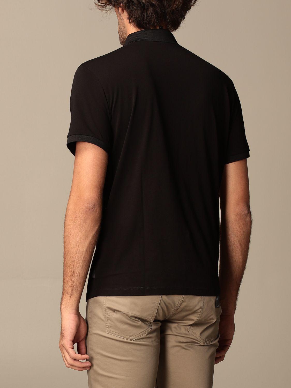 Polo Armani Exchange: Polo Armani Exchange in jersey con logo nero 2