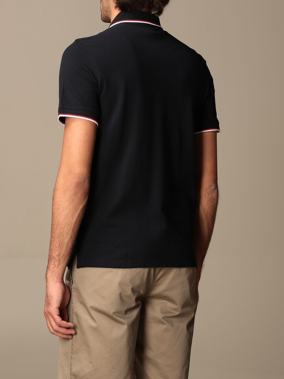 Polo shirt Armani Exchange: Armani Exchange cotton polo shirt with logo blue 2