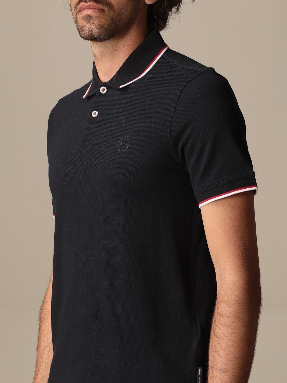 Polo shirt Armani Exchange: Armani Exchange cotton polo shirt with logo blue 3