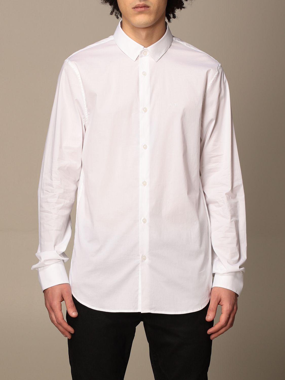 Shirt Armani Exchange: Armani Exchange shirt in stretch poplin white 1