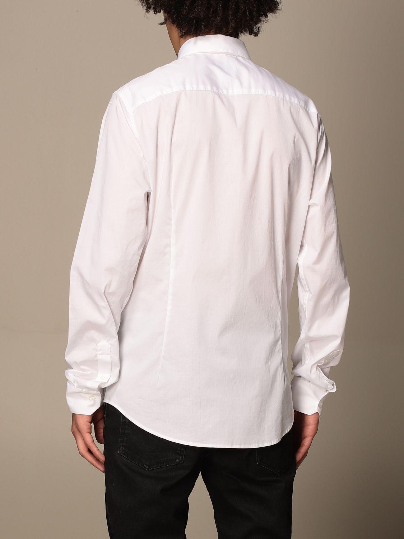 Shirt Armani Exchange: Armani Exchange shirt in stretch poplin white 3