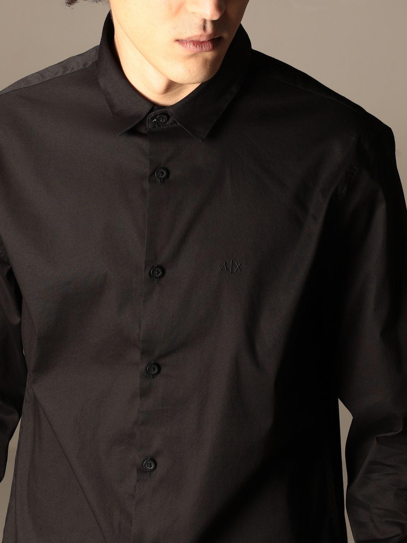 Chemise Armani Exchange: Chemise homme Armani Exchange noir 4