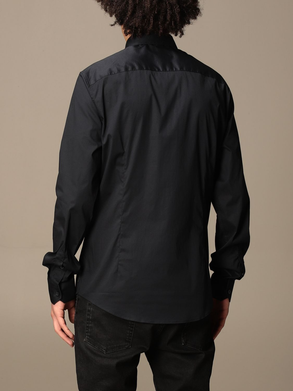 Shirt Armani Exchange: Armani Exchange shirt in stretch poplin blue 3