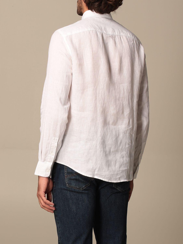 Camicia Armani Exchange: Camicia Armani Exchange in lino bianco 2
