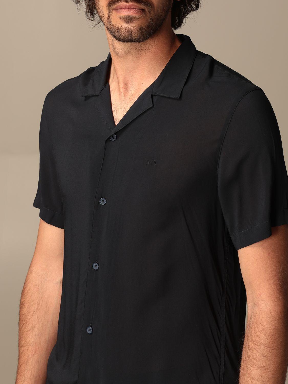 Shirt Armani Exchange: Armani Exchange viscose shirt blue 3