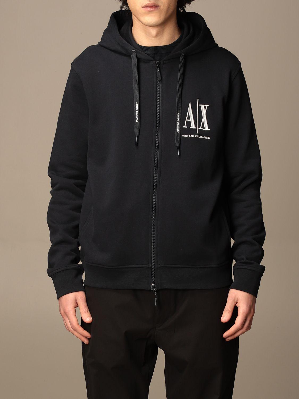 Sweatshirt Armani Exchange: Sweatshirt homme Armani Exchange bleu 1