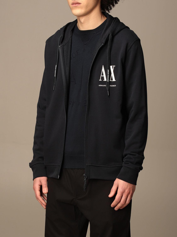 Sweatshirt Armani Exchange: Sweatshirt homme Armani Exchange bleu 3