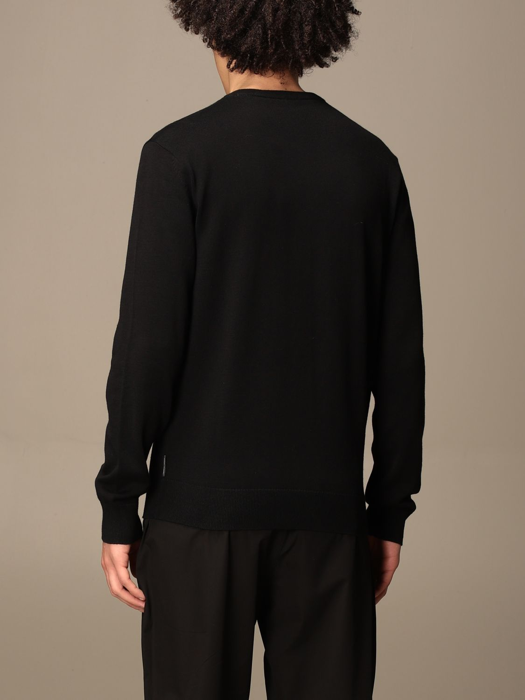 Sweater Armani Exchange: Armani Exchange cotton crewneck sweater black 2
