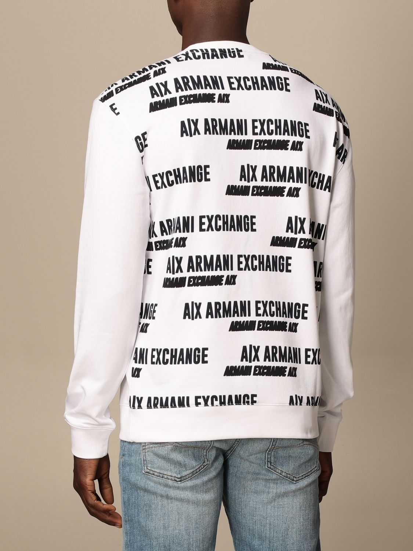 Sweatshirt Armani Exchange: Armani Exchange crewneck sweatshirt with logo white 2